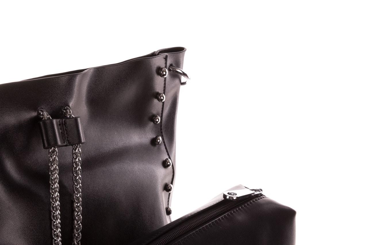 Torebka sca'viola t-56 black, czarny, skóra naturalna  - torebki - akcesoria - kobieta 16