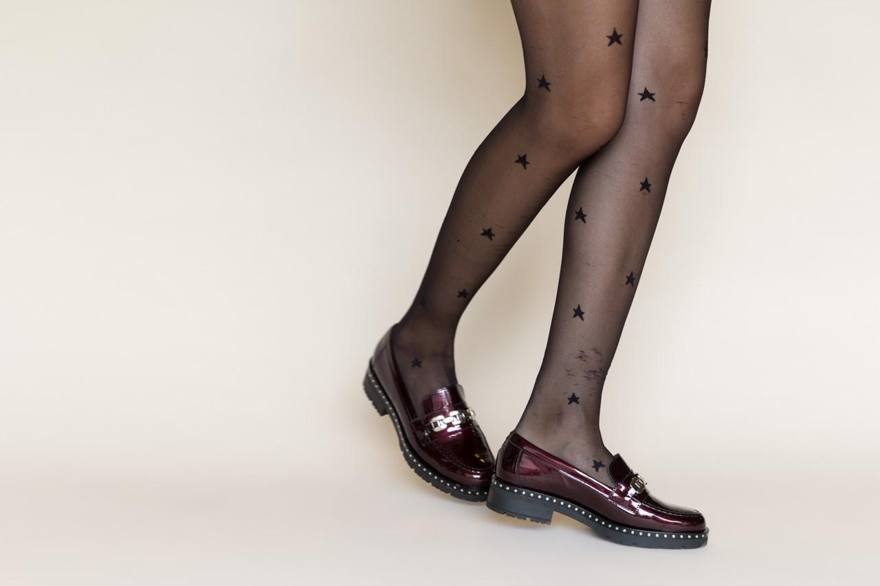Półbuty pitillos 5811 burdeos, bordowy, skóra naturalna lakierowana - półbuty - buty damskie - kobieta 12