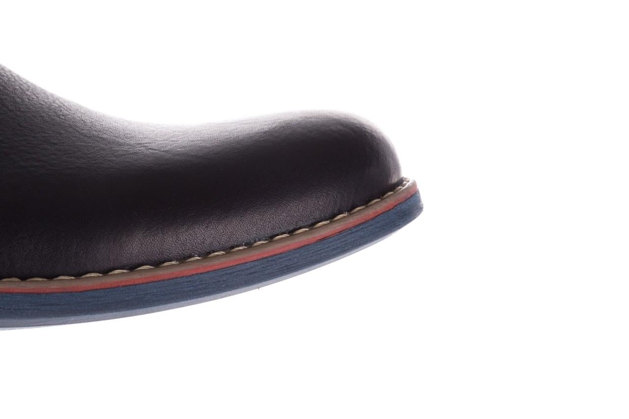 Półbuty bayla-081 771 ii granatowe 19, skóra naturalna  - półbuty - buty męskie - mężczyzna 16