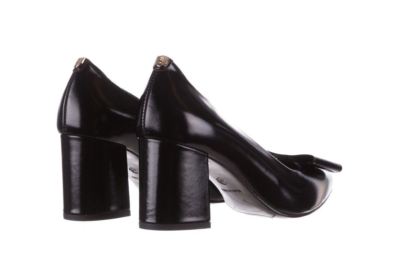 Czółenka bayla-056 9404-1278 czarny, skóra naturalna  - czółenka - buty damskie - kobieta 12
