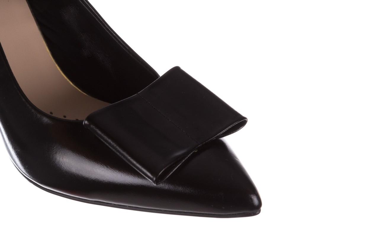 Czółenka bayla-056 9404-1278 czarny, skóra naturalna  - czółenka - buty damskie - kobieta 14