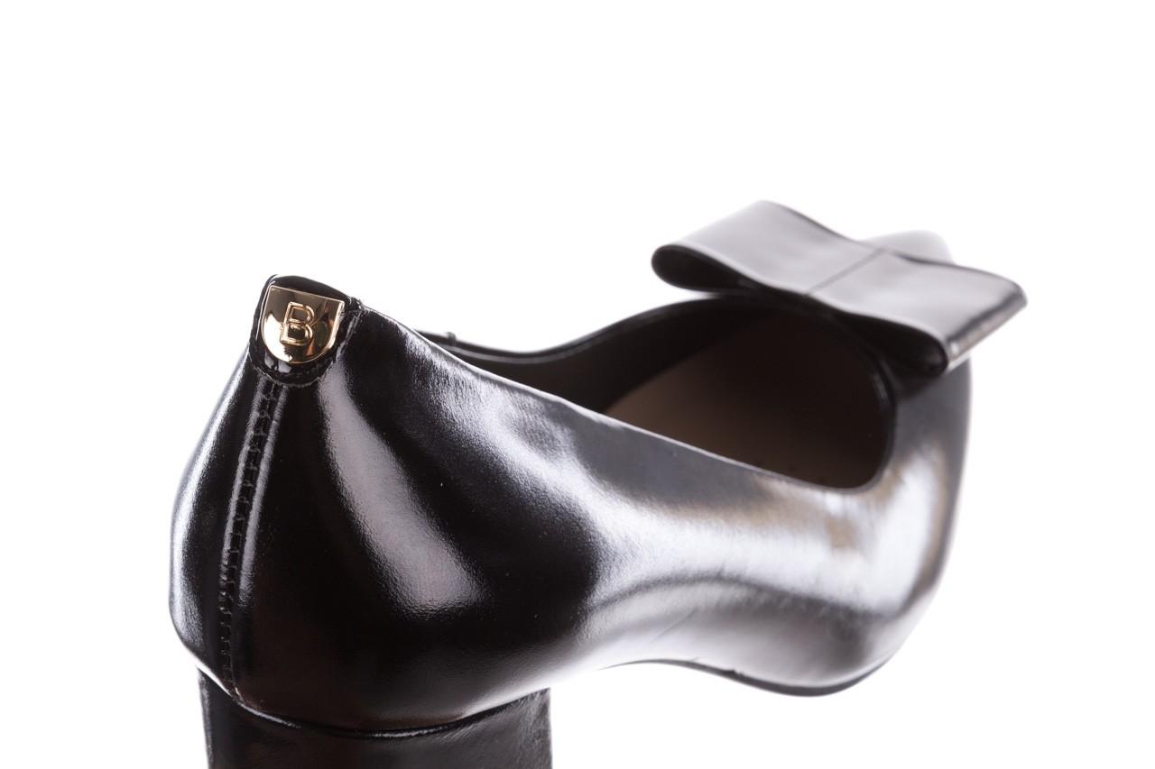 Czółenka bayla-056 9404-1278 czarny, skóra naturalna  - czółenka - buty damskie - kobieta 15
