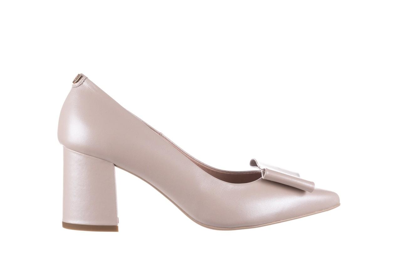 Czółenka bayla-056 9404-1459 beż perła, skóra naturalna  - skórzane - czółenka - buty damskie - kobieta 8