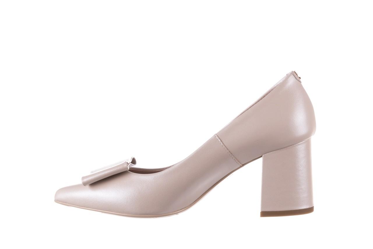 Czółenka bayla-056 9404-1459 beż perła, skóra naturalna  - skórzane - czółenka - buty damskie - kobieta 11