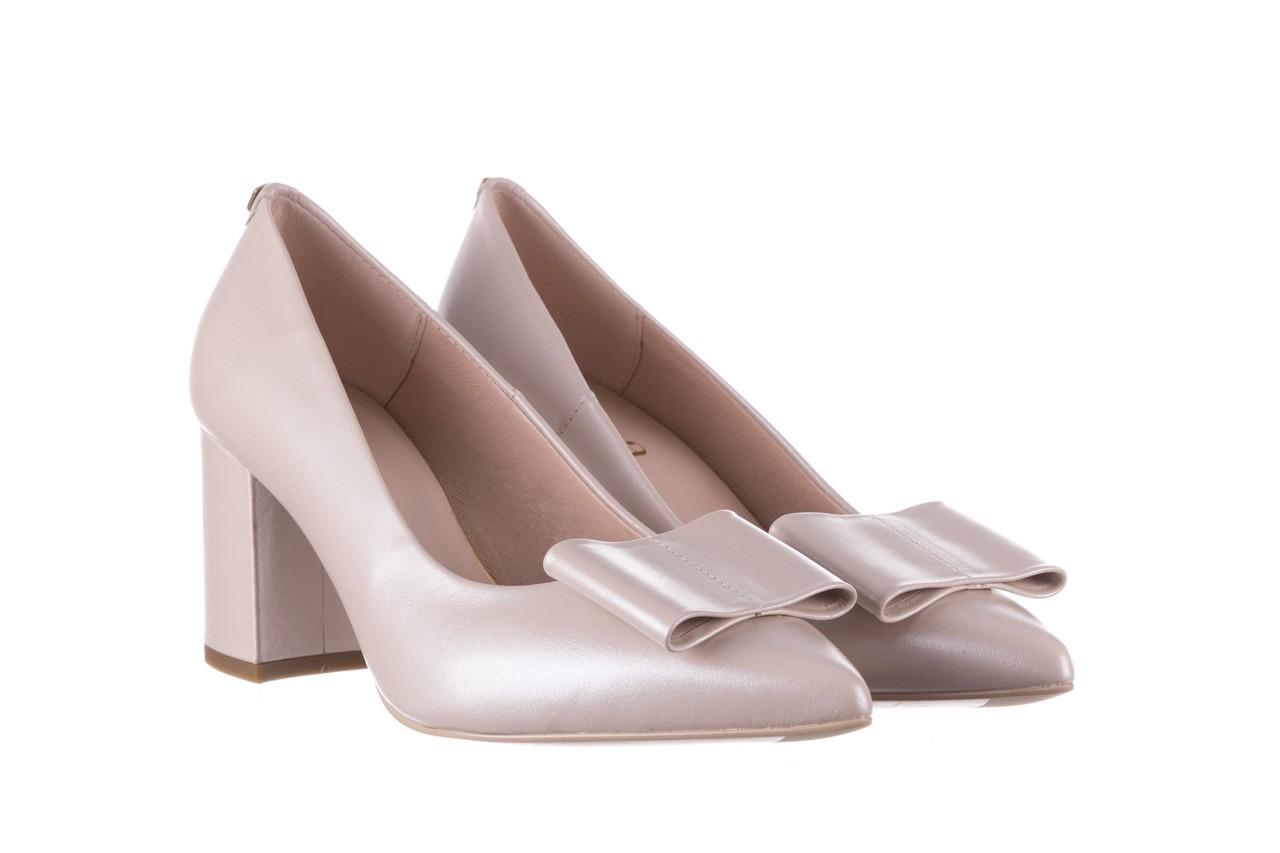 Czółenka bayla-056 9404-1459 beż perła, skóra naturalna  - skórzane - czółenka - buty damskie - kobieta 9
