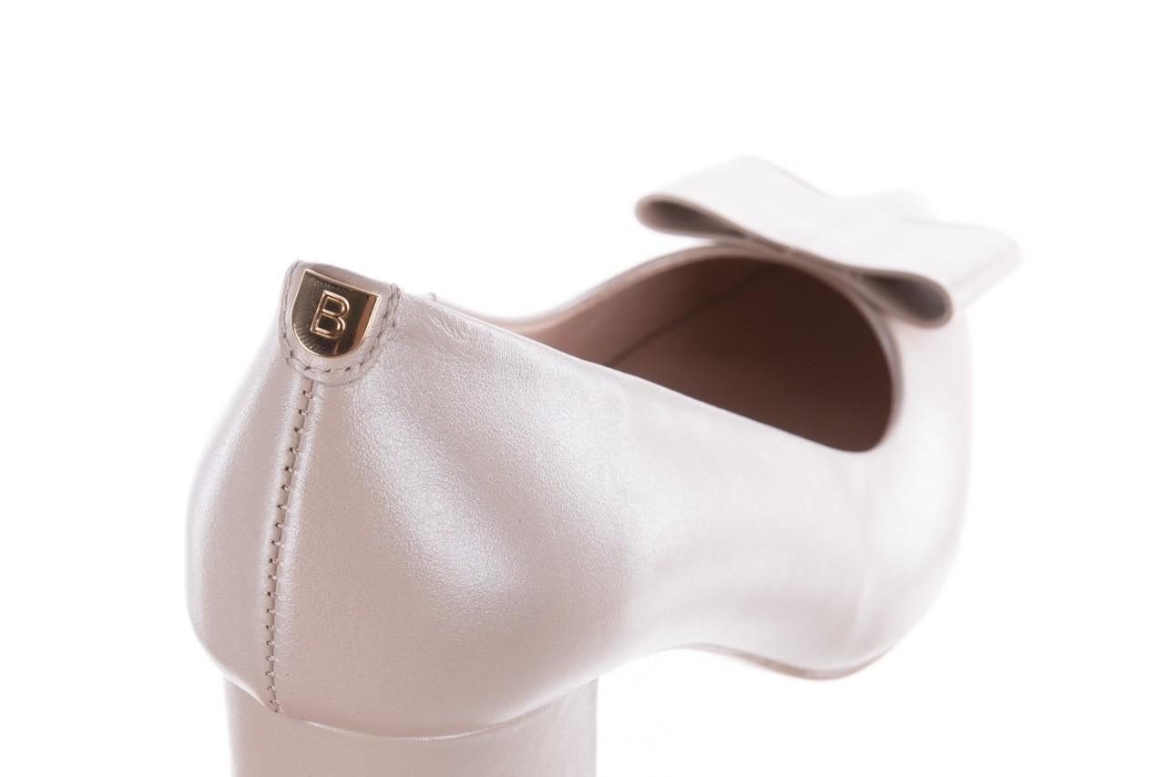 Czółenka bayla-056 9404-1459 beż perła, skóra naturalna  - skórzane - czółenka - buty damskie - kobieta 14