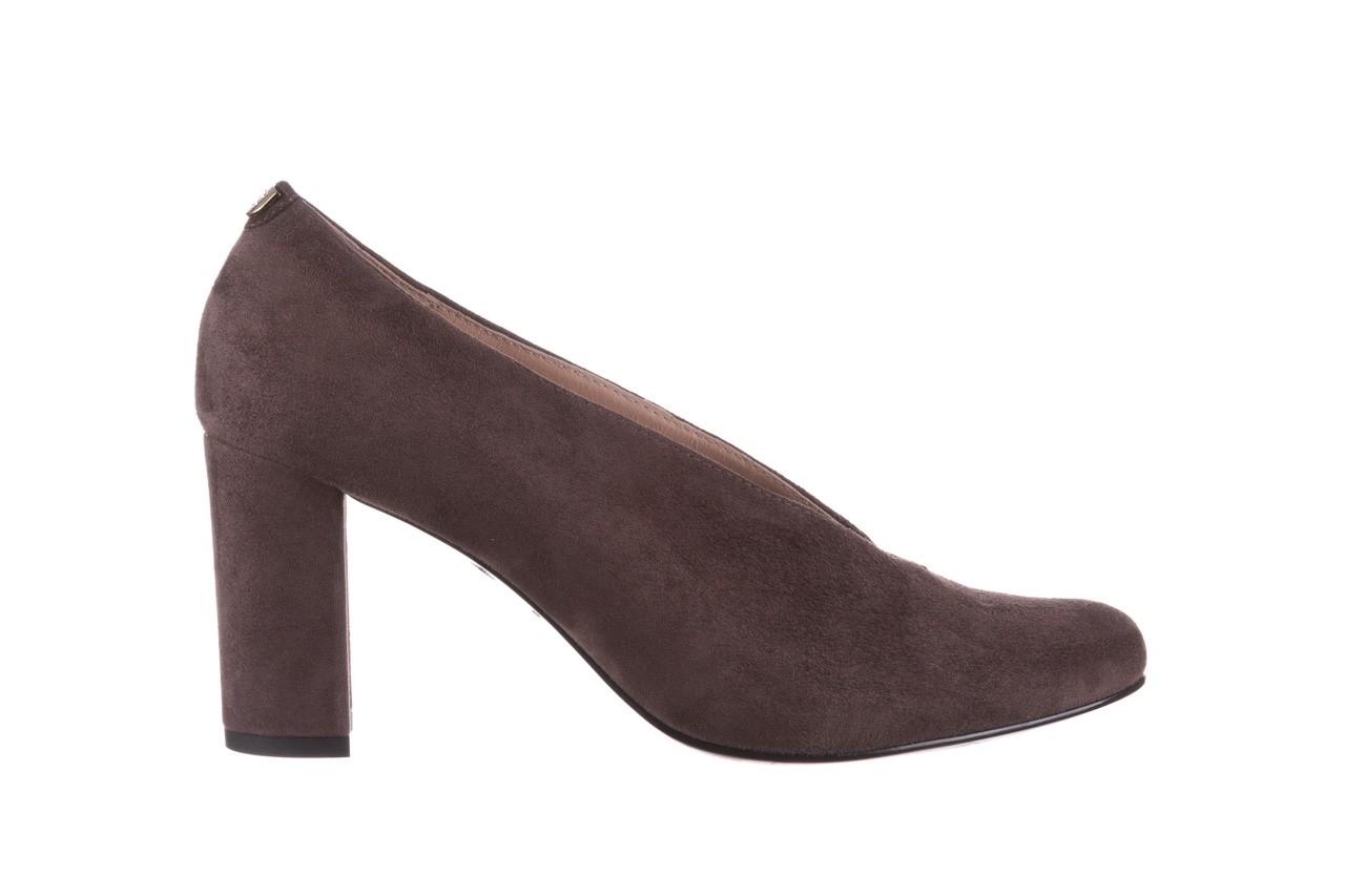 Czółenka bayla-056 9147-1462 szary, skóra naturalna  - zamszowe - czółenka - buty damskie - kobieta 8