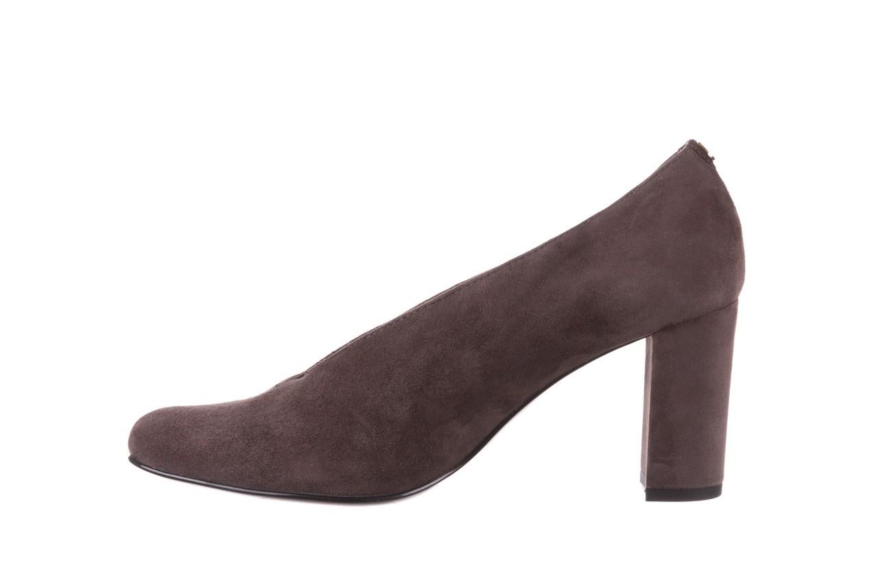 Czółenka bayla-056 9147-1462 szary, skóra naturalna  - zamszowe - czółenka - buty damskie - kobieta 11