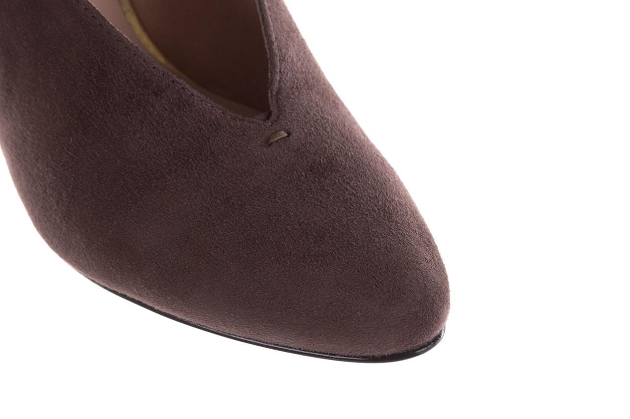 Czółenka bayla-056 9147-1462 szary, skóra naturalna  - czółenka - buty damskie - kobieta 15