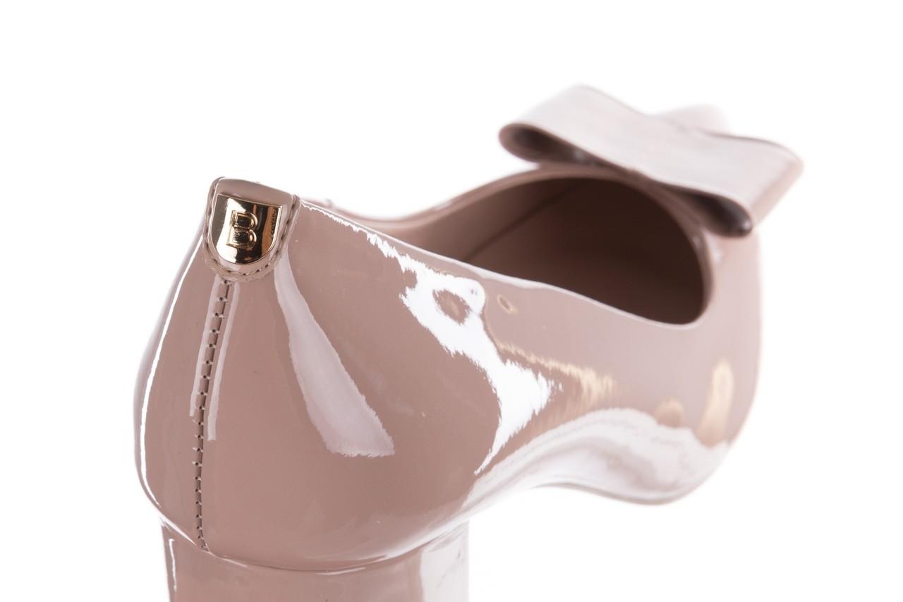 Czółenka bayla-056 9404-430 róż, skóra naturalna lakierowana  - czółenka - buty damskie - kobieta 15