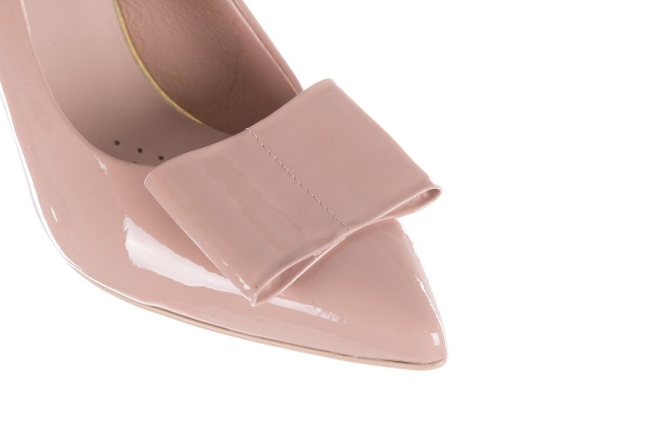 Czółenka bayla-056 9404-430 róż, skóra naturalna lakierowana  - czółenka - buty damskie - kobieta 14