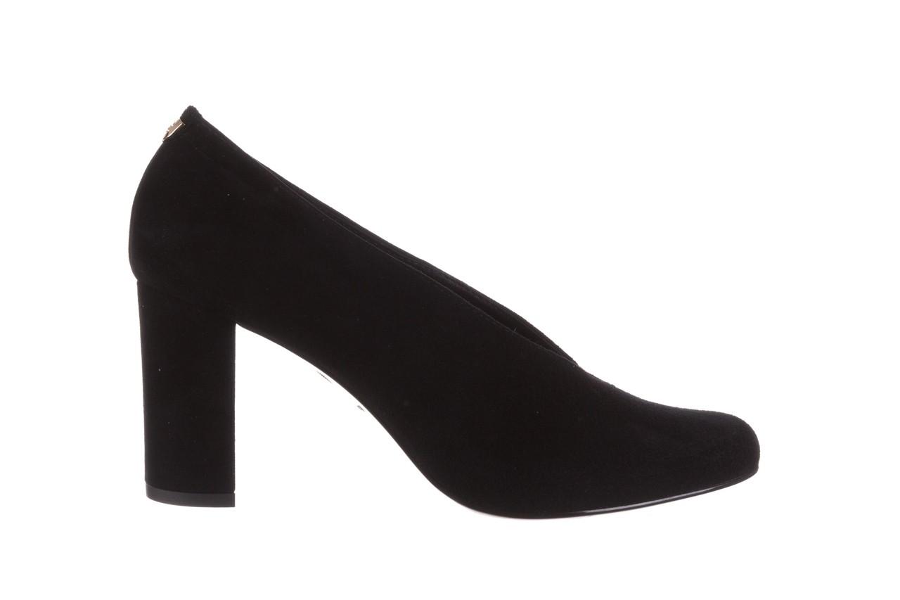 Czółenka bayla-056 9147-21 czarny, skóra naturalna  - na słupku - czółenka - buty damskie - kobieta 8