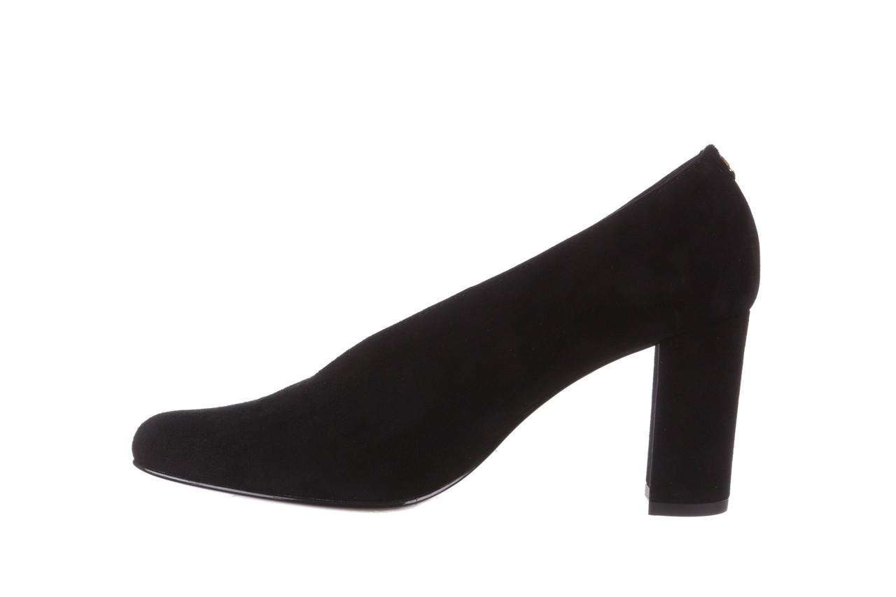 Czółenka bayla-056 9147-21 czarny, skóra naturalna  - na słupku - czółenka - buty damskie - kobieta 11