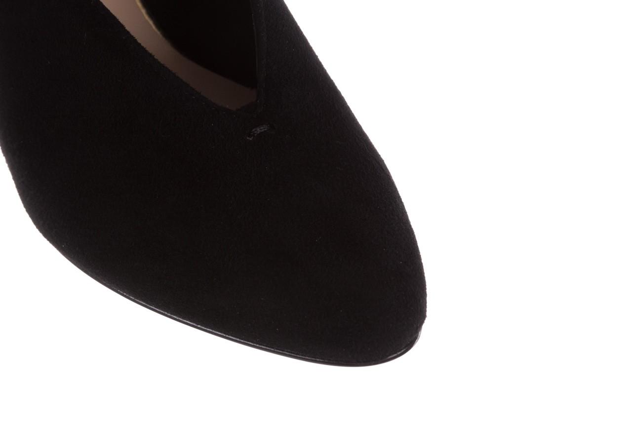 Czółenka bayla-056 9147-21 czarny, skóra naturalna  - na słupku - czółenka - buty damskie - kobieta 15