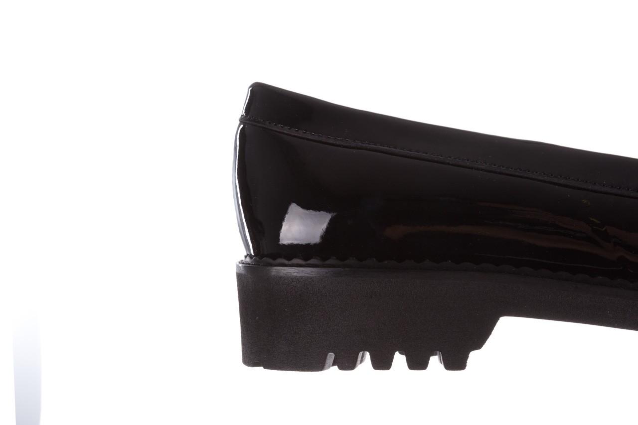 Półbuty bayla-157 b019-090-p czarny 157024, skóra naturalna lakierowana  - półbuty - buty damskie - kobieta 18