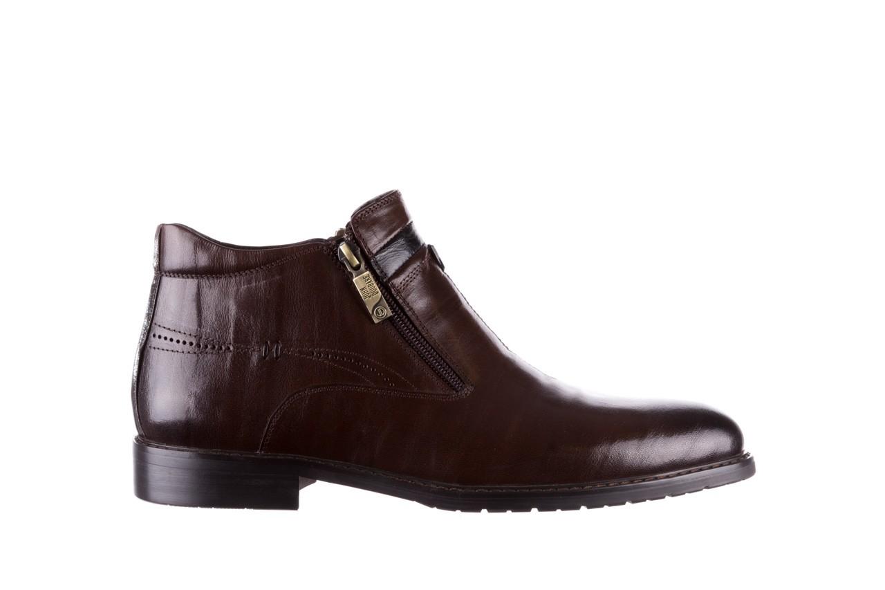 Trzewiki john doubare ygfr-z106-306-2 brown, brązowy, skóra naturalna  - sale - buty męskie - mężczyzna 8