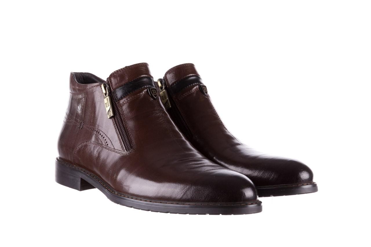 Trzewiki john doubare ygfr-z106-306-2 brown, brązowy, skóra naturalna  - sale - buty męskie - mężczyzna 9