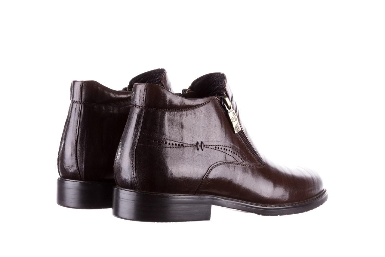 Trzewiki john doubare ygfr-z106-306-2 brown, brązowy, skóra naturalna  - sale - buty męskie - mężczyzna 11