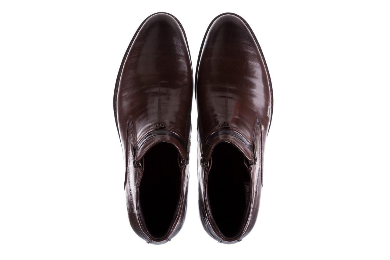 Trzewiki john doubare ygfr-z106-306-2 brown, brązowy, skóra naturalna  - sale - buty męskie - mężczyzna 12