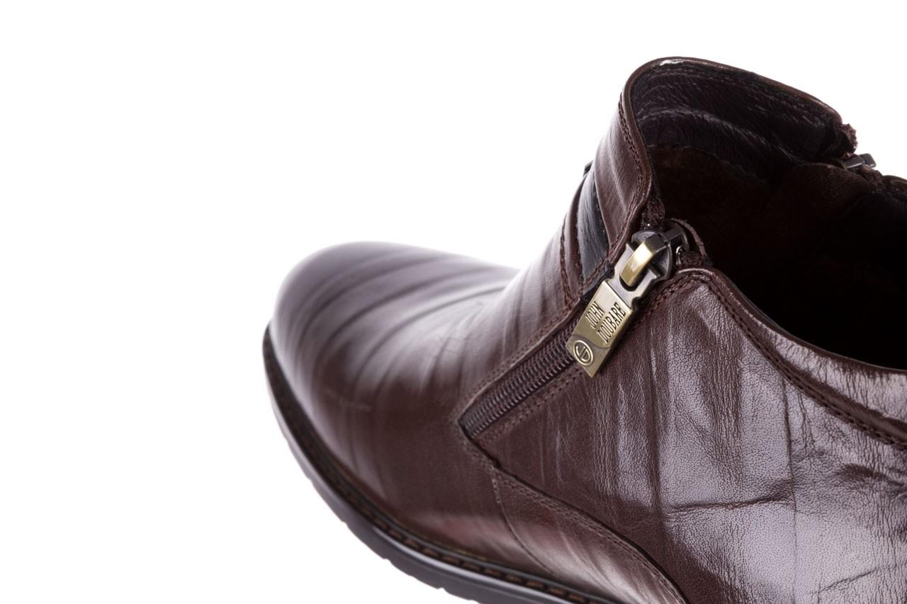 Trzewiki john doubare ygfr-z106-306-2 brown, brązowy, skóra naturalna  - sale - buty męskie - mężczyzna 14