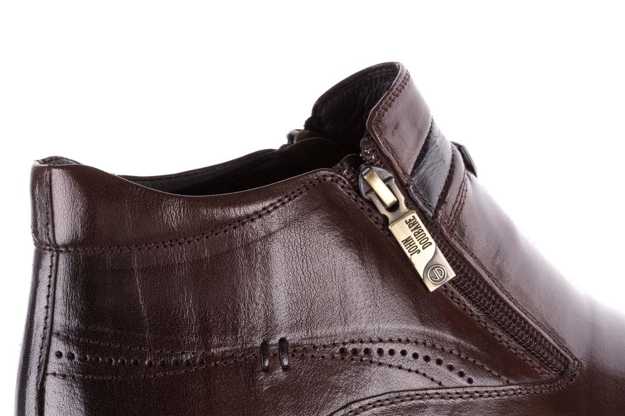 Trzewiki john doubare ygfr-z106-306-2 brown, brązowy, skóra naturalna  - sale - buty męskie - mężczyzna 15