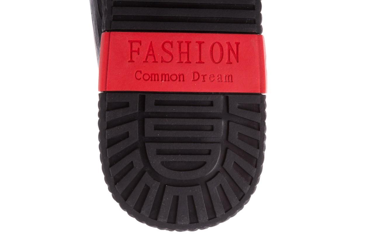 Trampki john doubare 10716-2 black, czarny, skóra naturalna  - niskie - trampki - buty męskie - mężczyzna 18