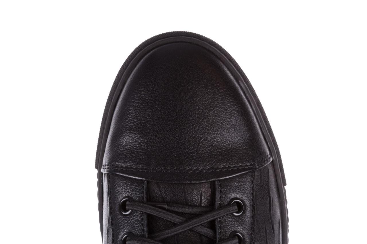 Trampki john doubare 10716-2 black, czarny, skóra naturalna  - niskie - trampki - buty męskie - mężczyzna 19