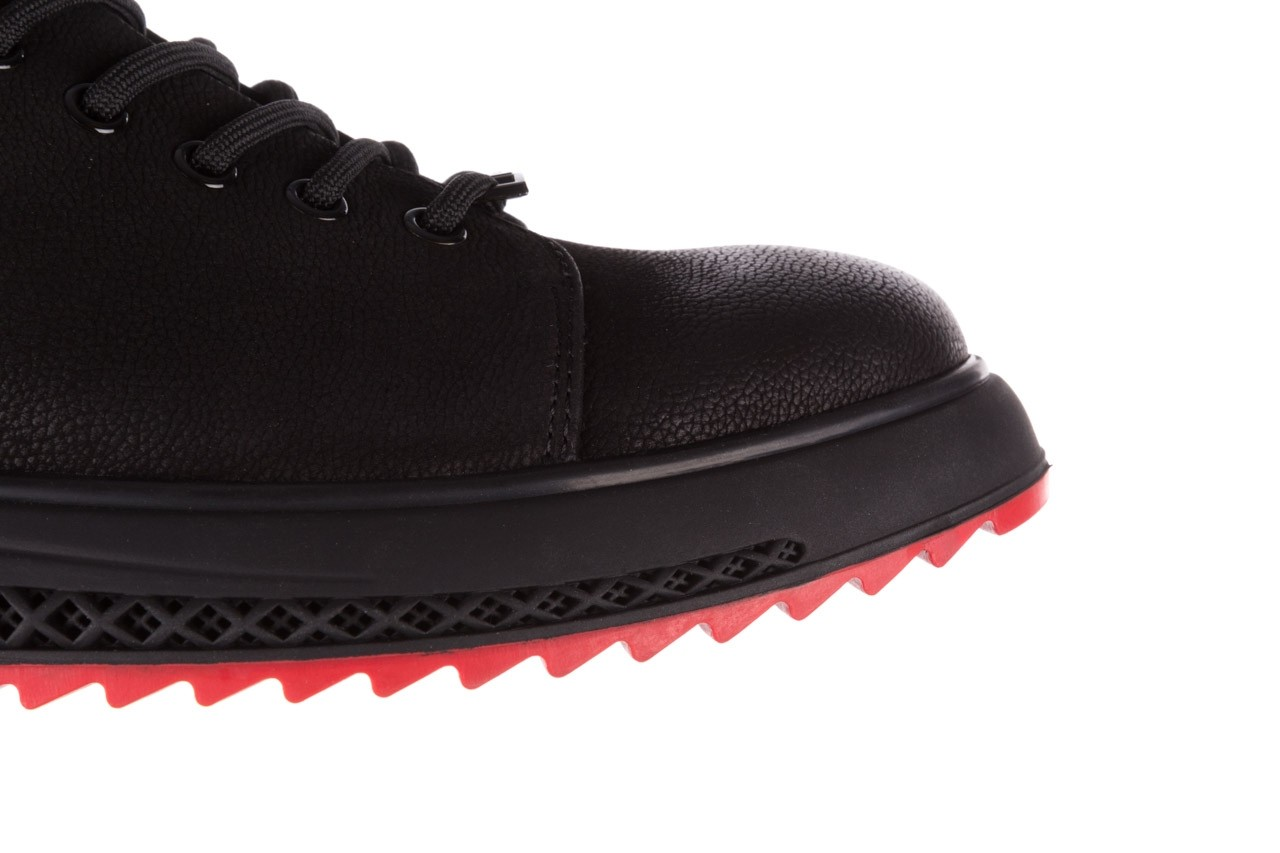 Trampki john doubare 1981-1m black, czarny, skóra naturalna   - buty męskie - mężczyzna 16