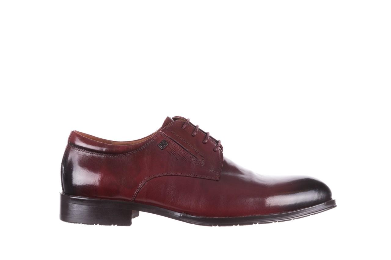 Półbuty brooman y008-27-a16 red, czerwony, skóra naturalna  - wizytowe - półbuty - buty męskie - mężczyzna 7