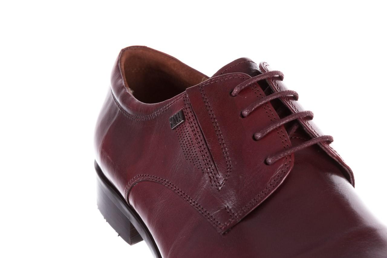 Półbuty brooman y008-27-a16 red, czerwony, skóra naturalna  - wizytowe - półbuty - buty męskie - mężczyzna 13