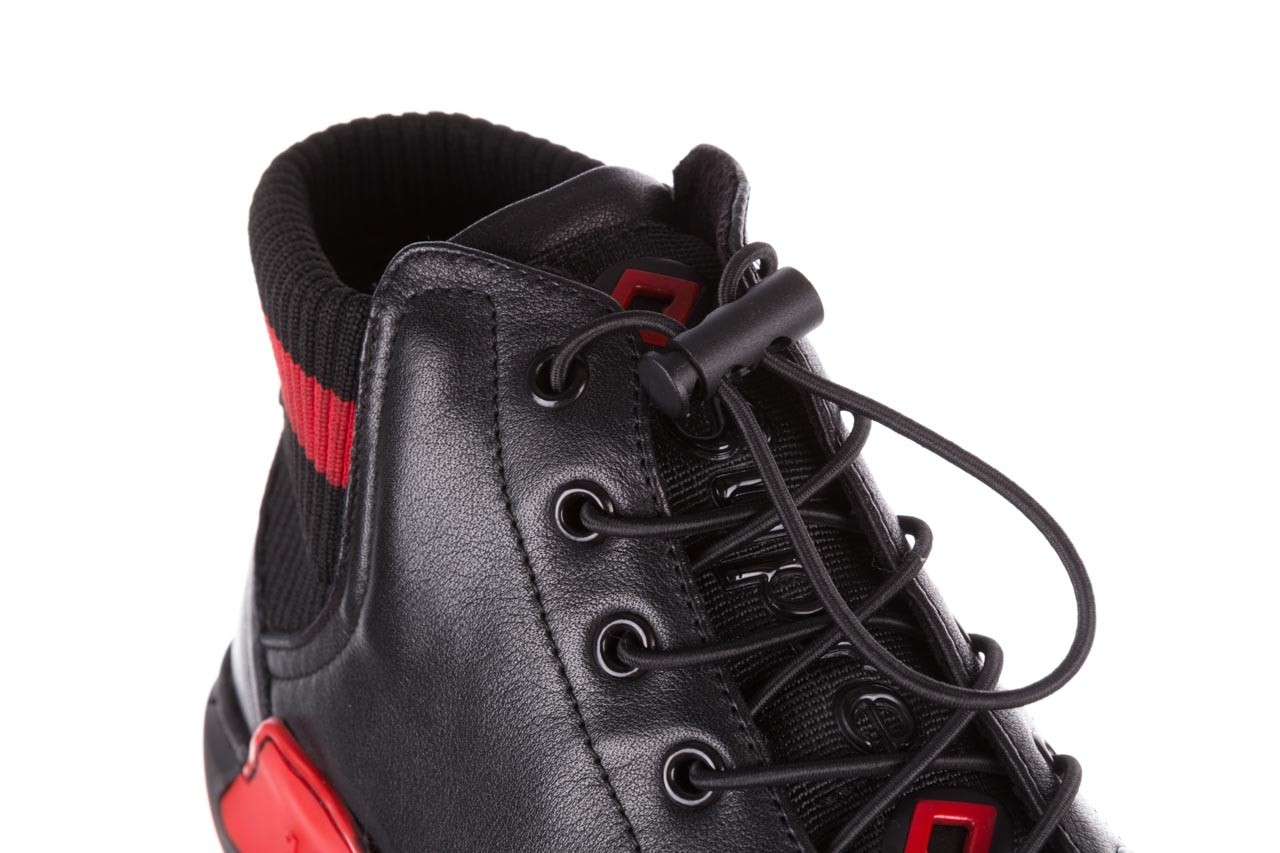 Trampki john doubare fy-9609 black, czarny, skóra naturalna  - sale - buty męskie - mężczyzna 14
