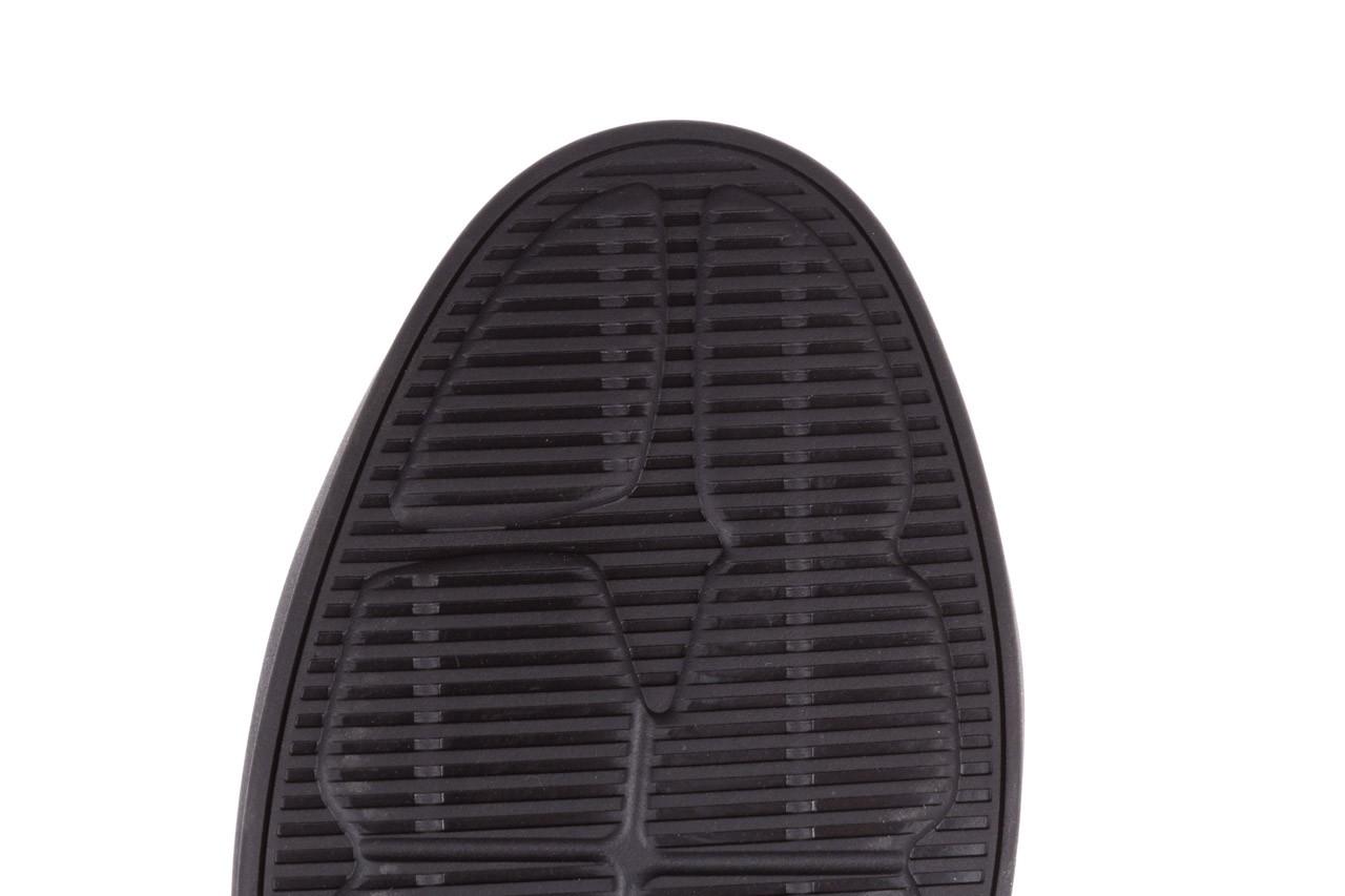 Trampki john doubare 10307 black, czarny, skóra naturalna  - niskie - trampki - buty męskie - mężczyzna 19