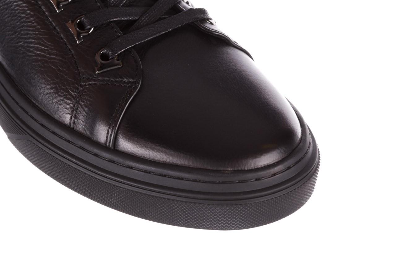Trampki brooman a641-1a black, czarny, skóra naturalna  - buty męskie - mężczyzna 15