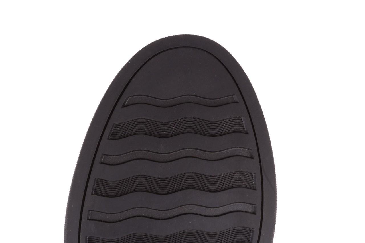 Trampki brooman a641-1a black, czarny, skóra naturalna  - buty męskie - mężczyzna 19