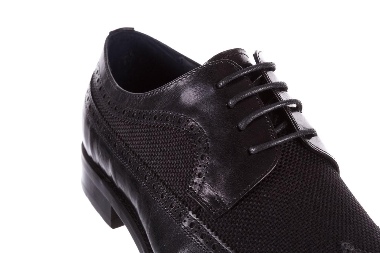 Półbuty brooman b-800-179 black, czarny, skóra naturalna  - sale - buty męskie - mężczyzna 13