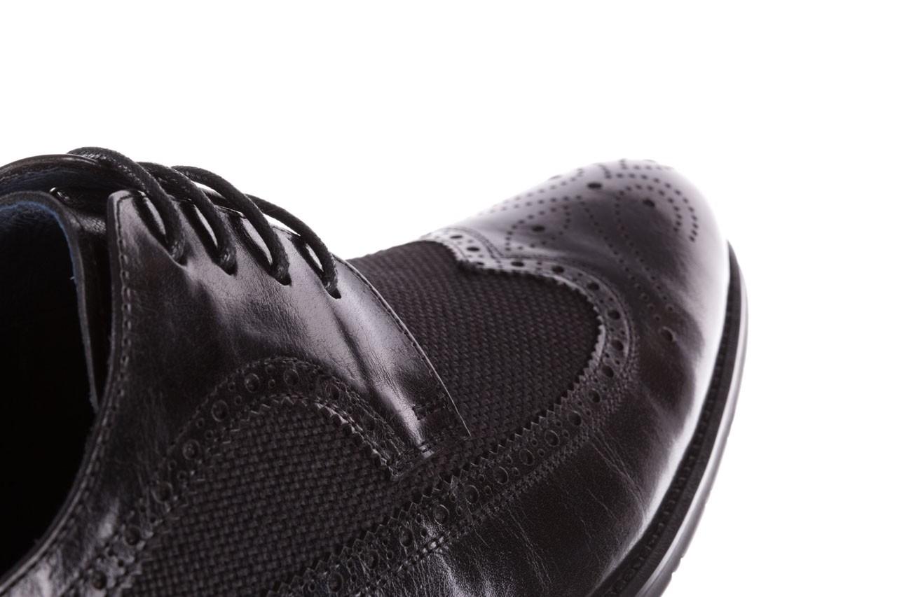 Półbuty brooman b-800-179 black, czarny, skóra naturalna  - sale - buty męskie - mężczyzna 15