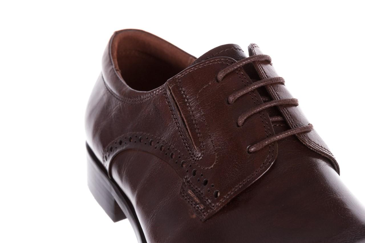 Półbuty brooman y008-26-a15 brown, brązowy, skóra naturalna  - buty męskie - mężczyzna 12