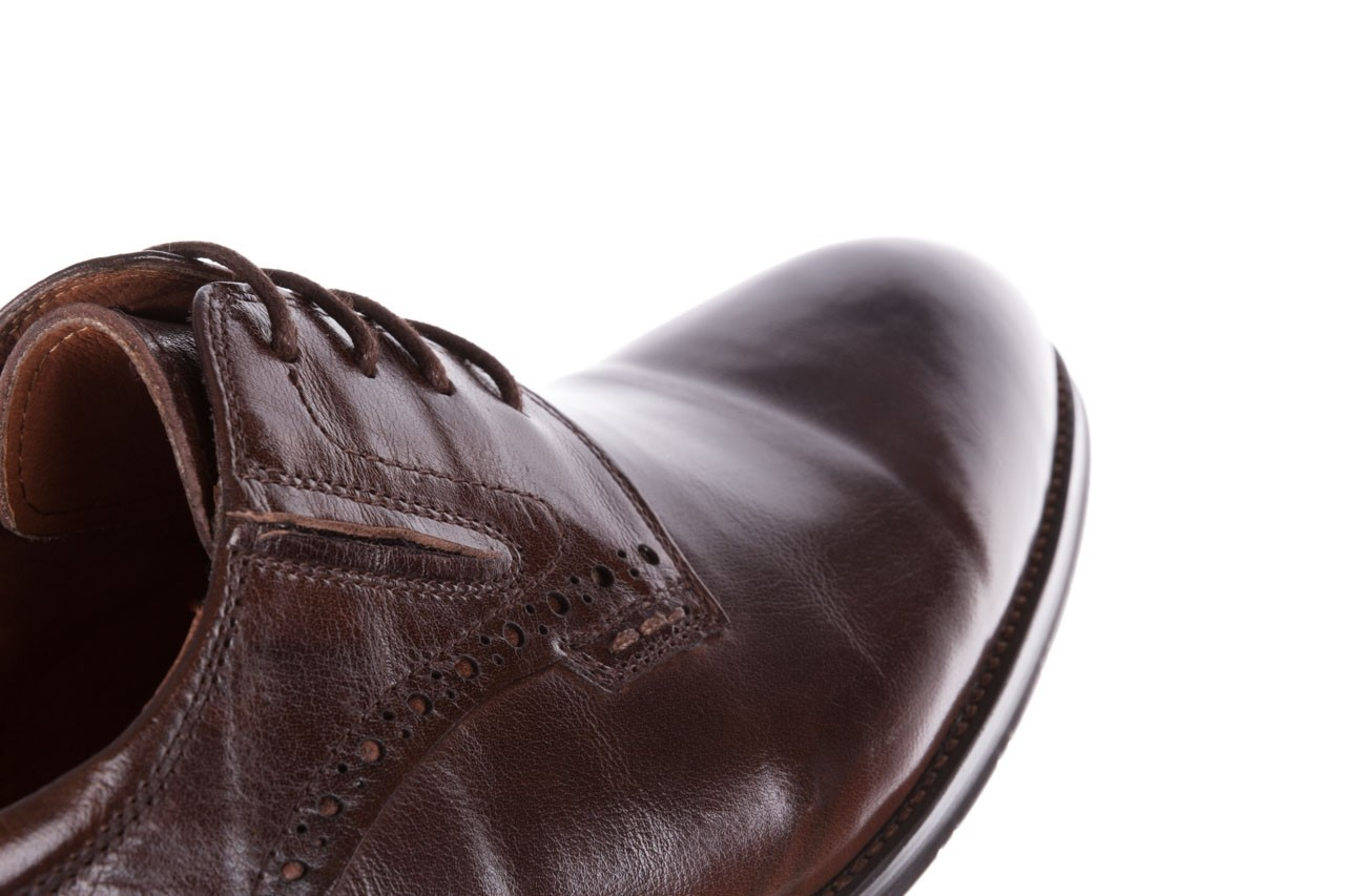 Półbuty brooman y008-26-a15 brown, brązowy, skóra naturalna  - buty męskie - mężczyzna 13
