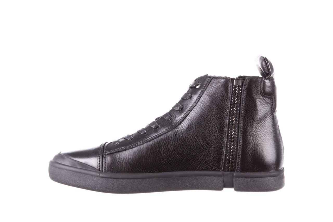 Trampki john doubare m5761-1 black 19, czarny, skóra naturalna  - sale - buty męskie - mężczyzna 13
