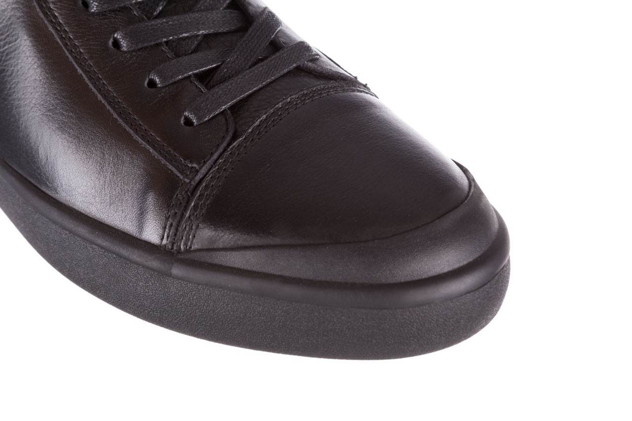 Trampki john doubare m5761-1 black 19, czarny, skóra naturalna  - trampki - dla niego - sale 17
