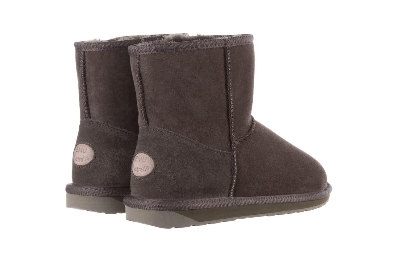 Śniegowce emu stinger mini dark olive, zielony, skóra naturalna  - śniegowce - śniegowce i kalosze - buty damskie - kobieta 13