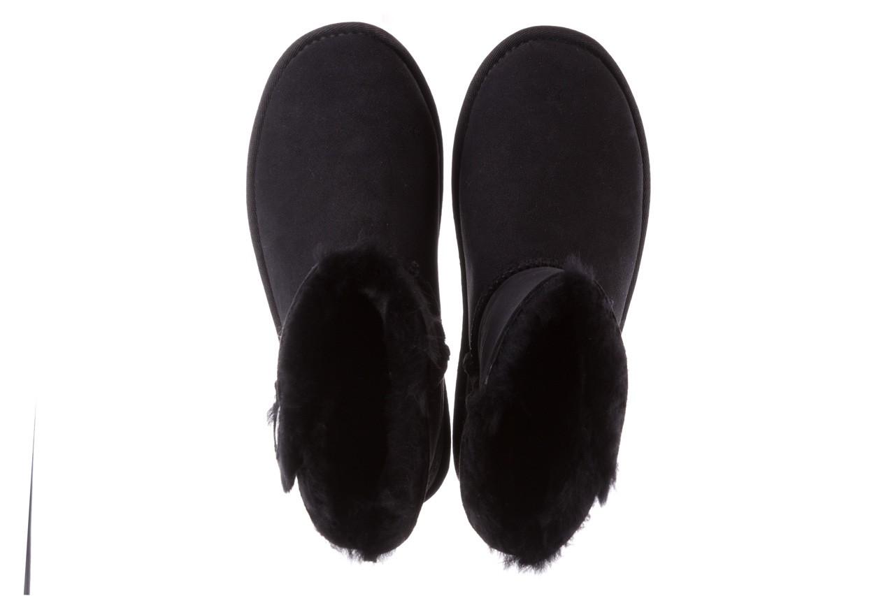 Śniegowce emu ore black, czarny, skóra naturalna 12