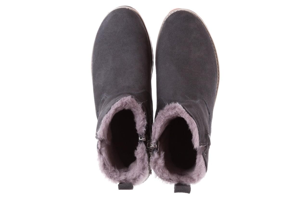 Śniegowce emu beach mini dark grey, szary, skóra naturalna  - sale 12