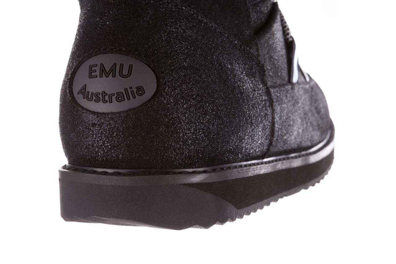 Śniegowce emu rutledge black, czarny, skóra naturalna 19