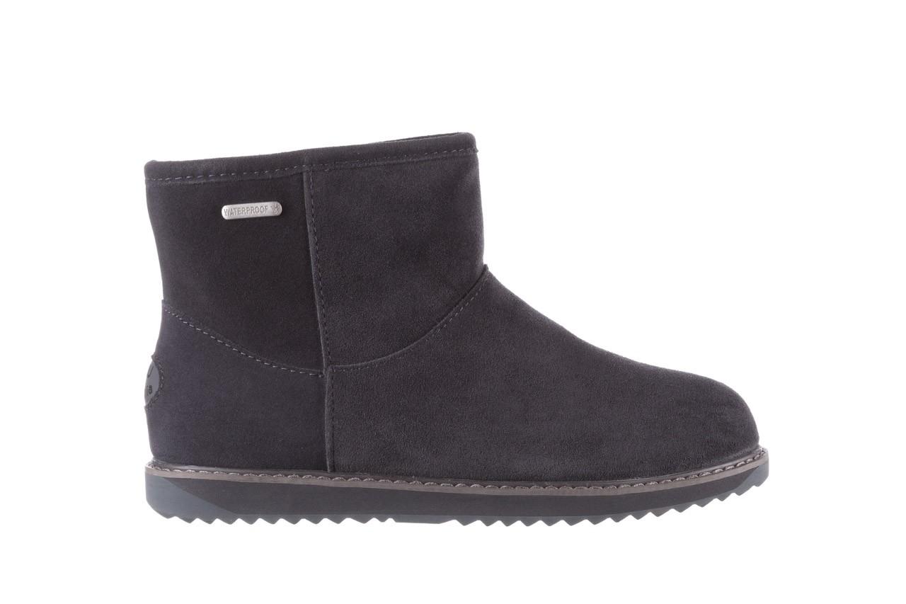 Śniegowce emu paterson classic mini dark grey, szary, skóra naturalna  - śniegowce - śniegowce i kalosze - buty damskie - kobieta 8