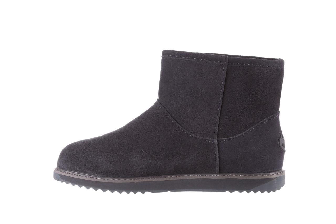 Śniegowce emu paterson classic mini dark grey, szary, skóra naturalna  - śniegowce - śniegowce i kalosze - buty damskie - kobieta 10