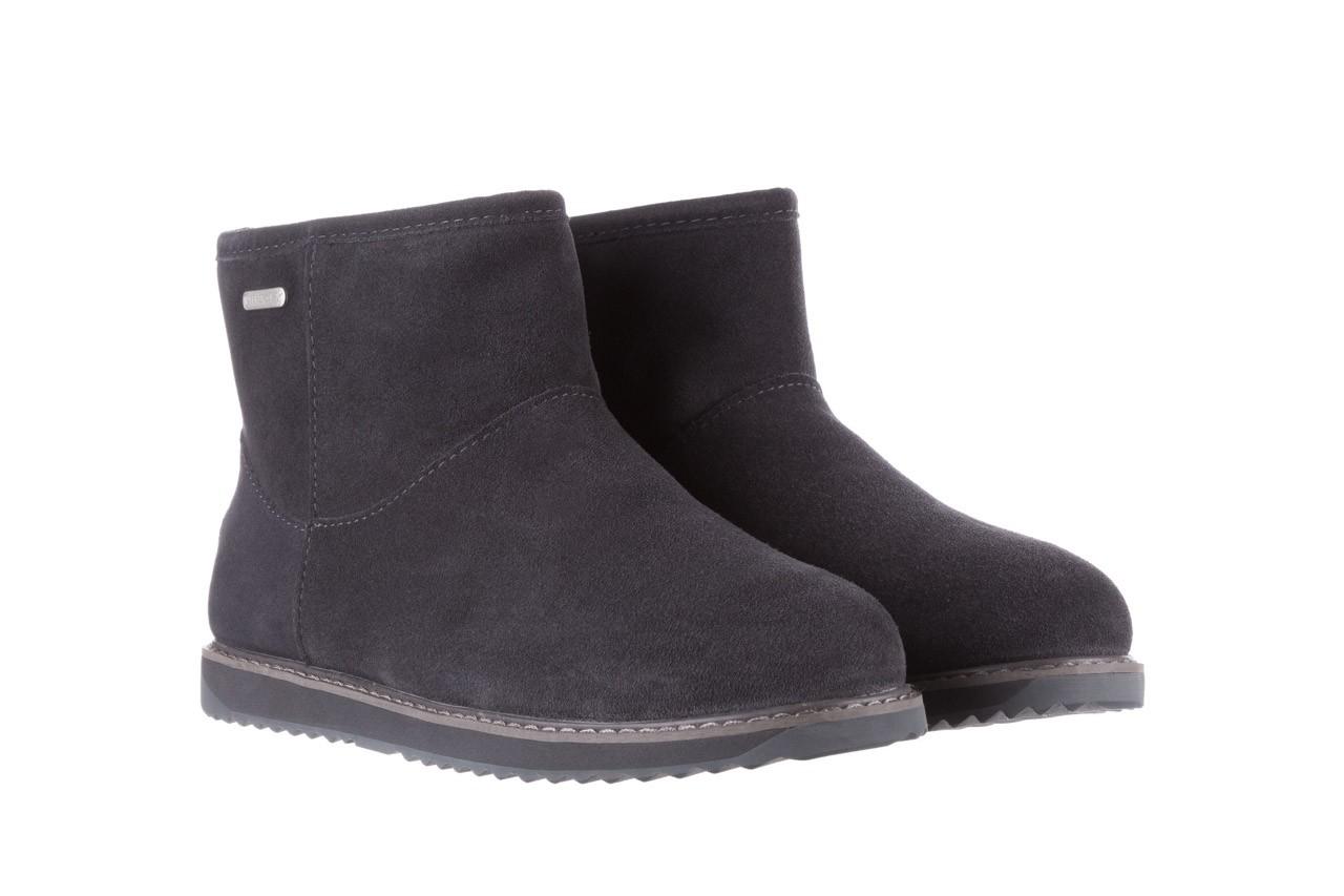 Śniegowce emu paterson classic mini dark grey, szary, skóra naturalna  - śniegowce - śniegowce i kalosze - buty damskie - kobieta 9