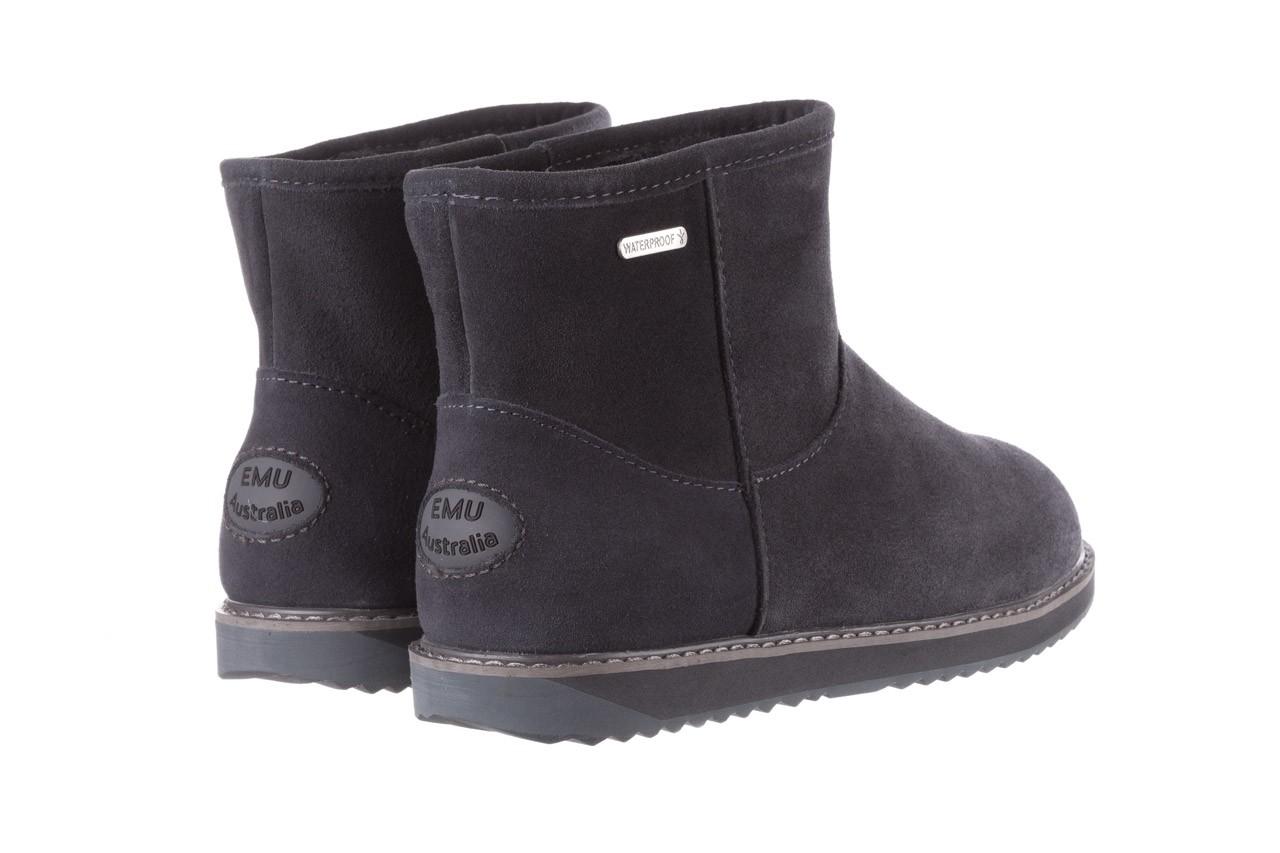 Śniegowce emu paterson classic mini dark grey, szary, skóra naturalna  - śniegowce - śniegowce i kalosze - buty damskie - kobieta 11