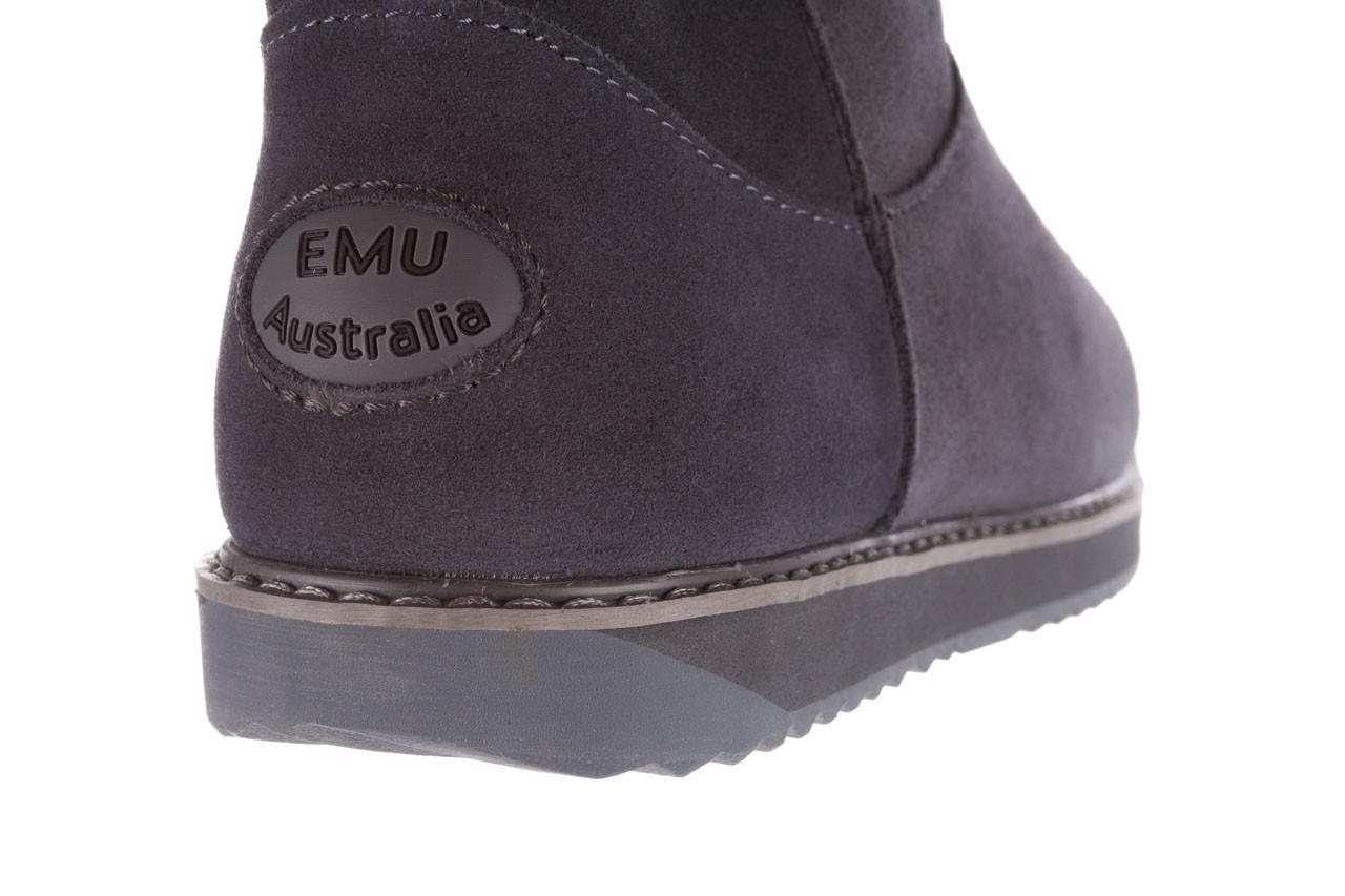 Śniegowce emu paterson classic mini dark grey, szary, skóra naturalna  - śniegowce - śniegowce i kalosze - buty damskie - kobieta 13