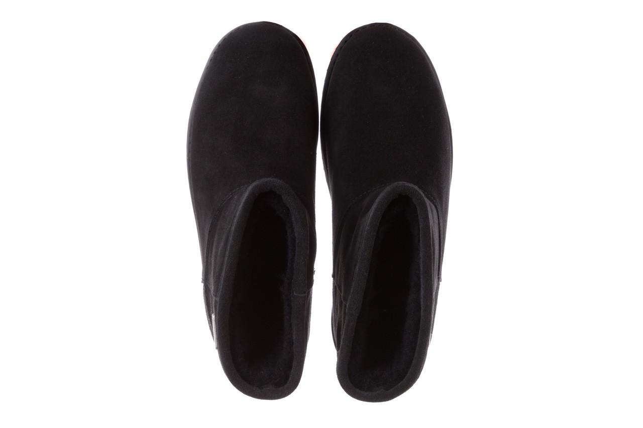 Śniegowce emu paterson classic mini black, czarny, skóra naturalna  - śniegowce i kalosze - dla niej  - sale 12